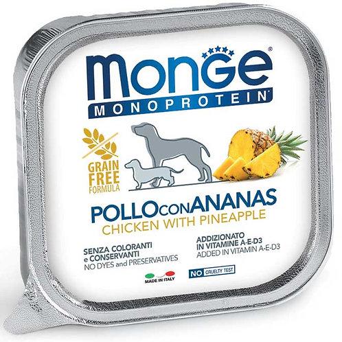 Monge Pate' Monoproteico Pollo con Ananas 150 Gr.