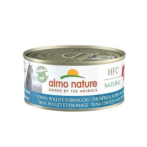 Almo Nature - HFC Natural Tonno, Pollo e Formaggio