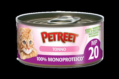 Petreet Natura Monoproteico Tonno 60 Gr.
