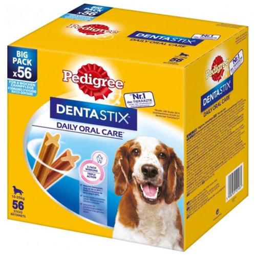 Pedigree Dentastix Snack per l'Igiene Orale (Cane Medio 10-25 kg), 56 Pezzi