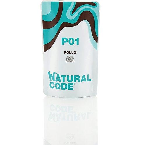 Natural Code - P01 Pollo in Acqua di Cottura 70 Gr.