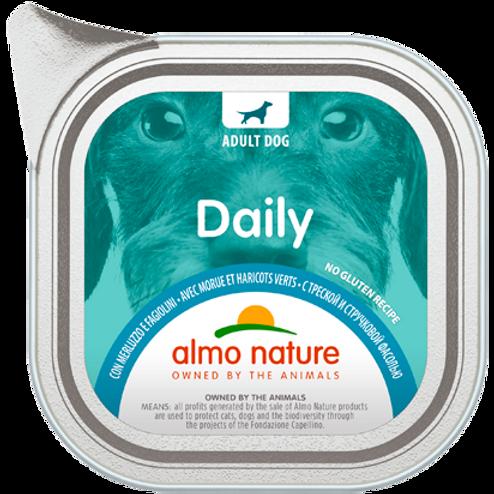 Almo Nature cane DailyMenu con Merluzzo e Fagiolini 100/300 Gr.