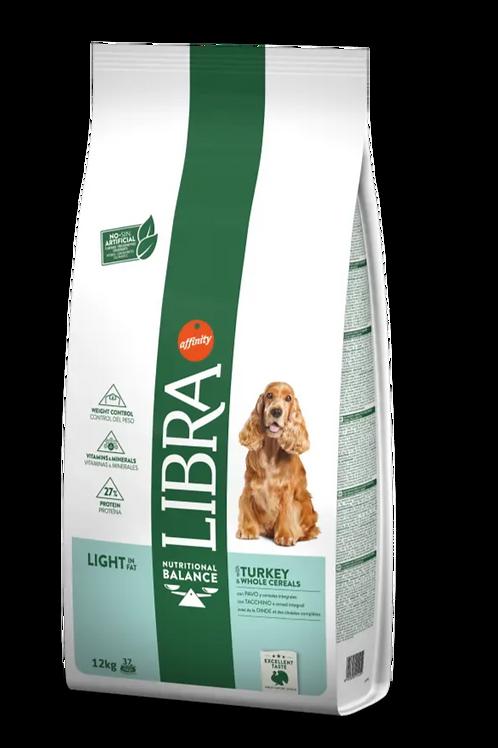 Libra Cane Adult Light In Fat Con Tacchino e Cereali Integrali 12 Kg.