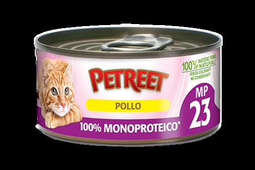 Petreet Natura Monoproteico Pollo 60 Gr.