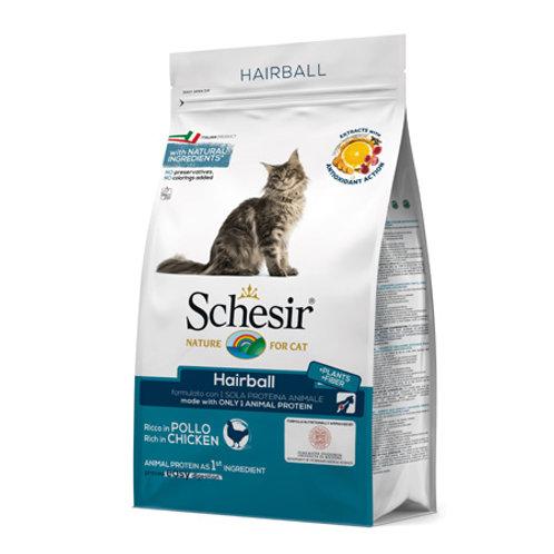 Schesir Gatto Adult HairBall Pollo  Monoproteico 1.5 Kg.