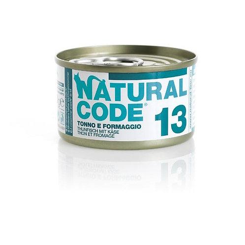 Natural Code - 13 Tonno e Formaggio 85 Gr.
