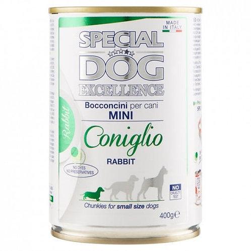 Special Dog Excellence Bocconcini per Cani Mini con Coniglio 400 Gr.
