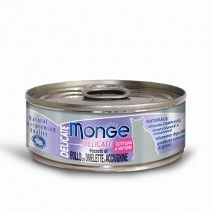 Monge - Natural Superpremium Pezzetti di Pollo con Omelette e Acciughine