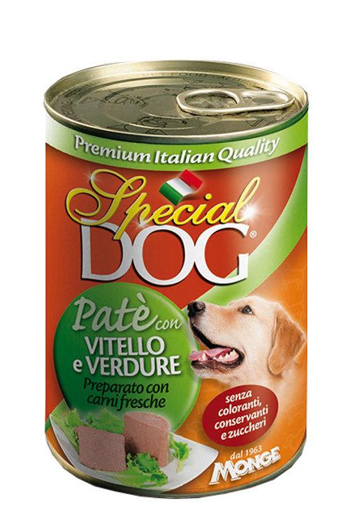 Special Dog Paté con Vitello e Ortaggi  400 Gr.