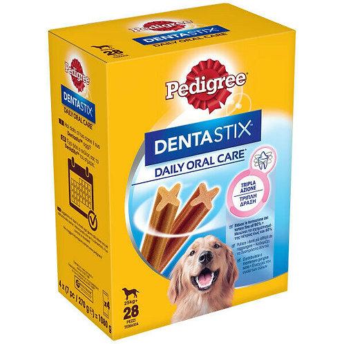 Pedigree Dentastix Snack per l'Igiene Orale (Cane Large +25 kg), 28 Pezzi