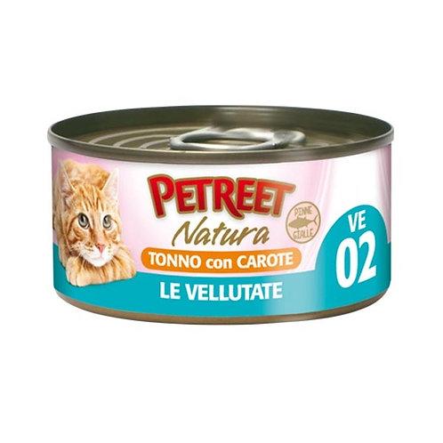 Petreet  Natura Le Vellutate Tonno con Carote 70 Gr.