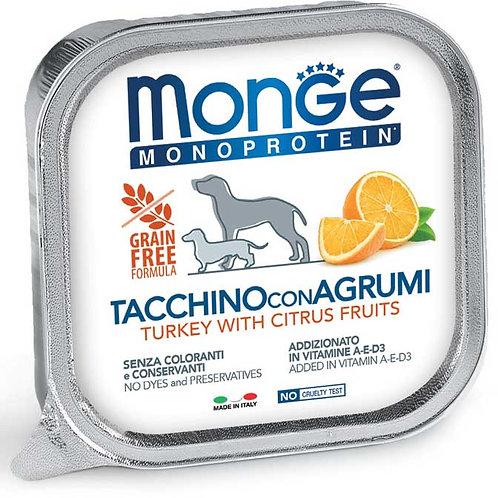 Monge Pate' Monoproteico Tacchino con Agrumi 150 Gr.