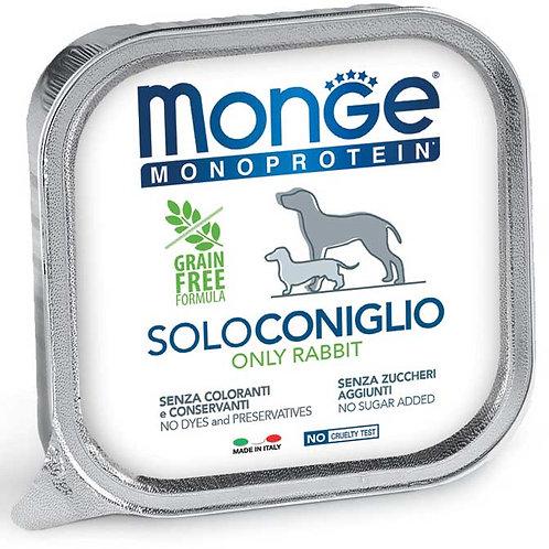 Monge Pate' Monoproteico SOLO Coniglio 150 Gr.