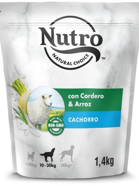Nutro Natural Choice Cani Puppy con Agnello e Riso 1,4 Kg