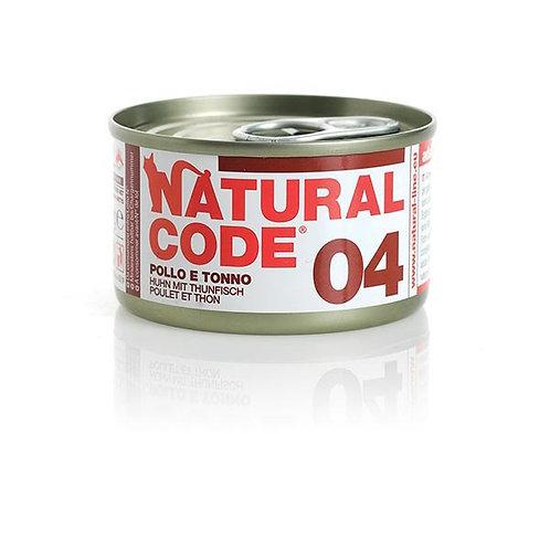 Natural Code - 04 Tonno e Pollo 85 Gr.