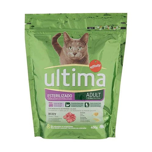 Ultima Cat Sterilizzato Adult Manzo 400 Gr.