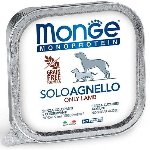 Monge Pate' Monoproteico SOLO Agnello 150 Gr.