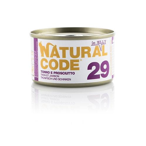 Natural Code - 29 Tonno e Prosciutto in Jelly 85 Gr.