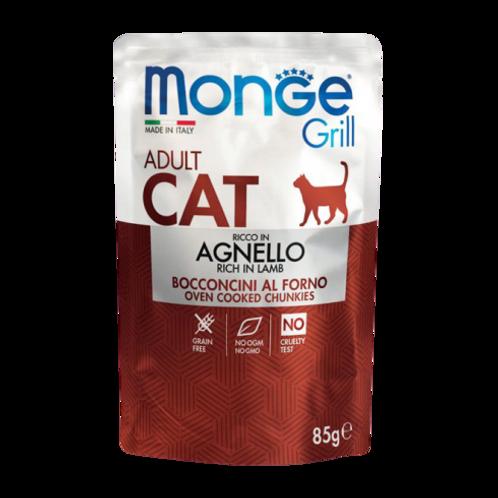 Monge Grill Cat Adult Bocconcini in Jelly Agnello da 85 Gr