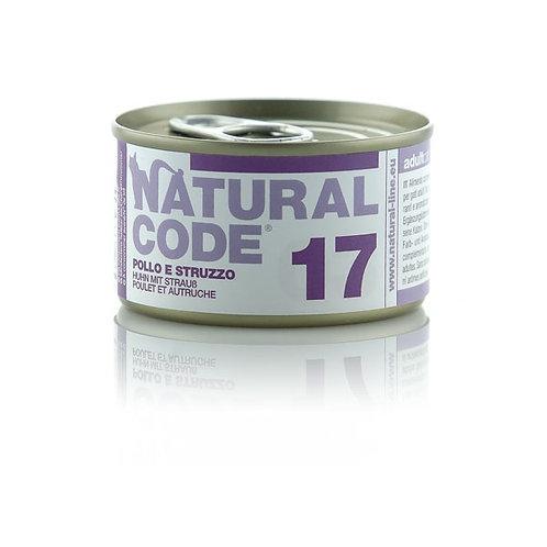 Natural Code - 17 Pollo e Struzzo 85 Gr.