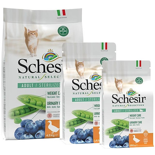 Schesir - Natural Selection Adult Sterilized con Anatra