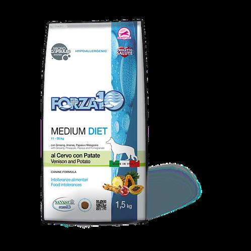 Forza10 - Medium Diet al Cervo con Patate 1.5 Kg.