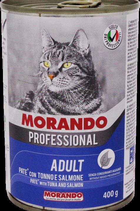 Morando Professional Pate' Tonno e Gamberetti 400 Gr.