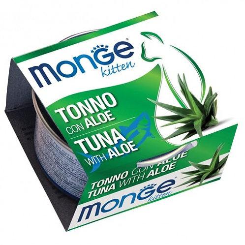 Monge - Fruits Kitten con Tonno e Aloe da 80g