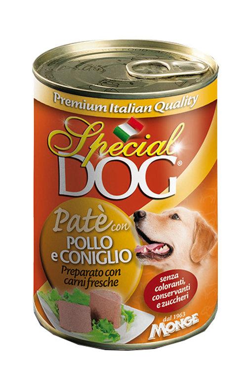 Special Dog Paté con Pollo e Coniglio  400 Gr.