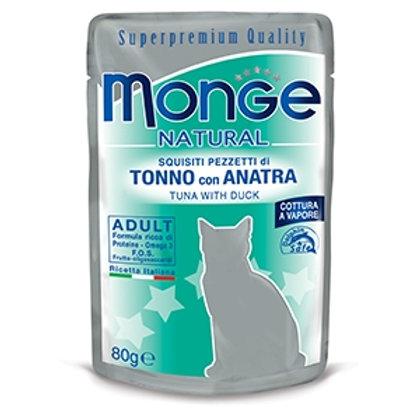Monge - Natural Superpremium Cotti a Vapore con Tonno e Anatra