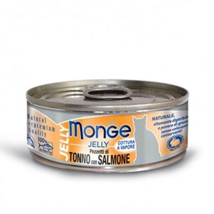 Monge - Natural Superpremium Jelly Tonno Bonito con Salmone