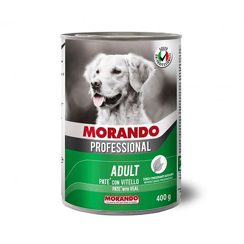 Morando Professional Adult, Patè con Vitello 400 Gr.