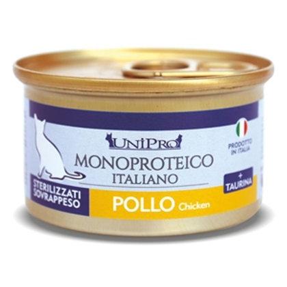 Unipro - Unicamente Pollo Sterilizzati o Sovrappeso 85 Gr.