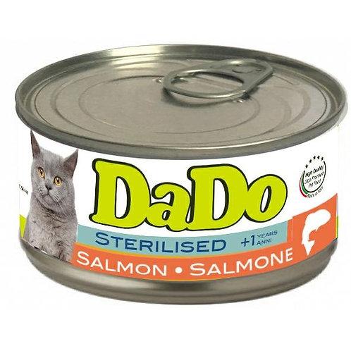 Dado Cat Sterilizzato Patè al Salmone 85 Gr.