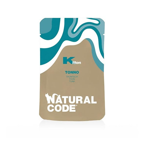 Natural Code -Kitten Pouch Tonno 70 Gr.