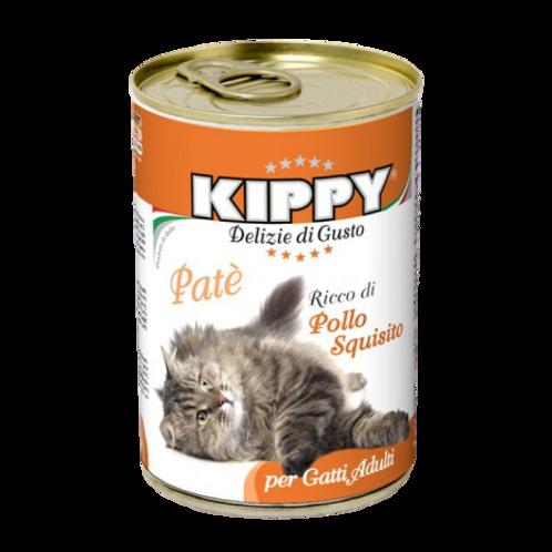 Kippy Gatto Adult Patè con Pollo Squisito 400 Gr.