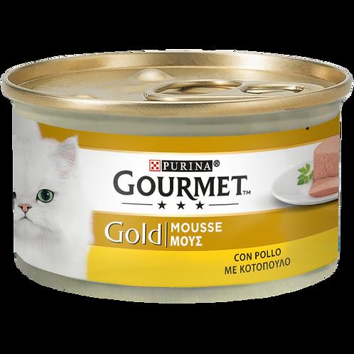 GOURMET Gold Gatto Mousse con Pollo 85 Gr.