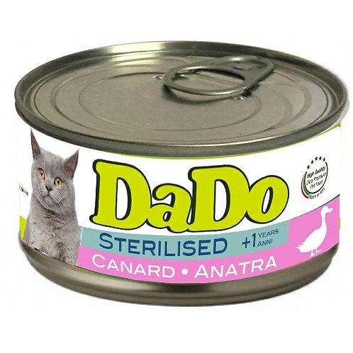 Dado Cat Sterilizzato Patè Anatra 85 Gr.