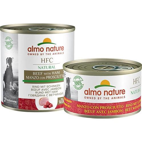 Almo Nature - HFC Natural Manzo e Prosciutto 95 Gr.