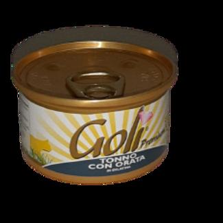 Goli' Gatto Naturale in Gelatina Tonno con Orata 80 Gr.