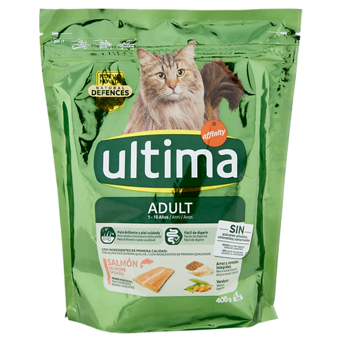 Ultima Cat Adult 1-10 Anni Salmone 400 g