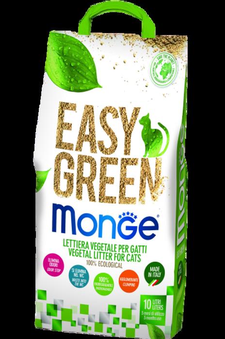 Monge Lettiera Easy Clean Agglomerante Biodegradabile 10 Lt.