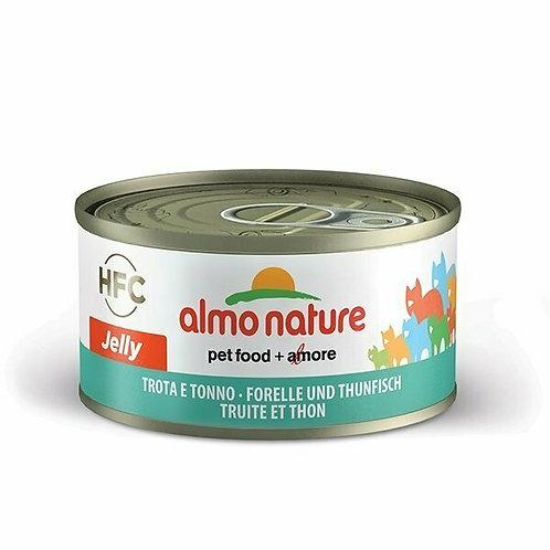 Almo Nature HFC Jelly Trota e Tonno 70 gr