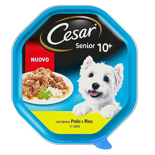 Cesar Senior 10+ Pollo e Riso in Salsa 150 Gr.