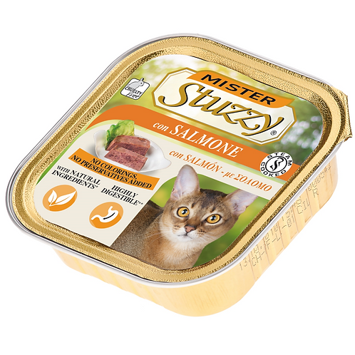 Mister Stuzzy Patè con Salmone 100 Gr.