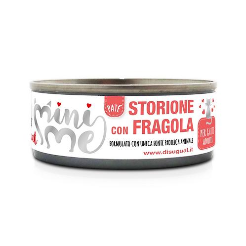 Disugual MiniMe Patè Storione con Fragola 85 Gr.