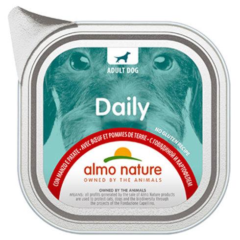 Almo Nature cane DailyMenu con Manzo e Patate 100/300 Gr.
