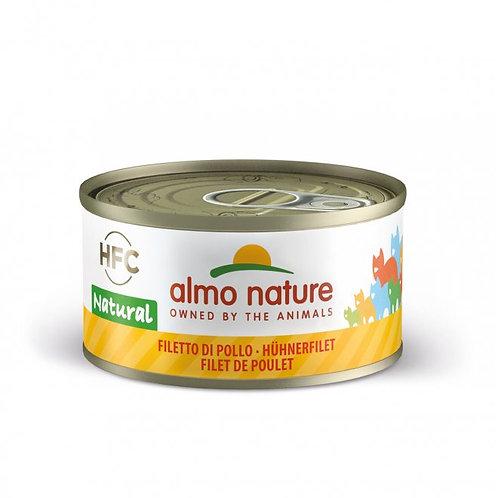 Almo Nature Gatto Natural con Filetto di Pollo da 70 gr