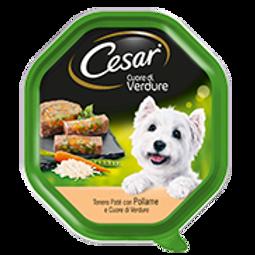 Cesar Cuore di Verdure delicato Paté con Pollallame e Cuore di Verdure 150 Gr.