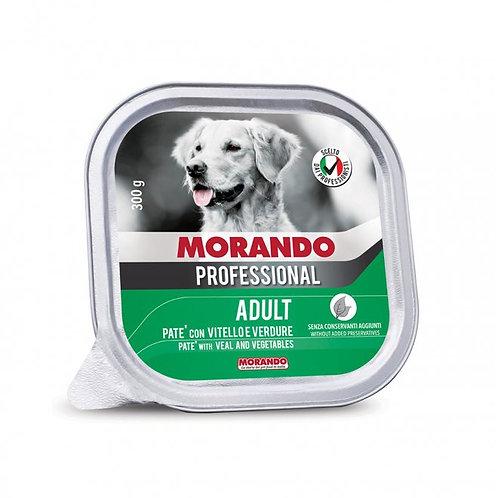 Morando Miglior Cane Professional Pate' con Vitello e Verdure